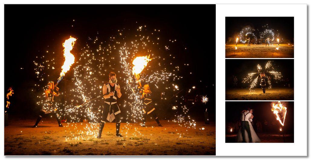 Fire show od Postrpoi.