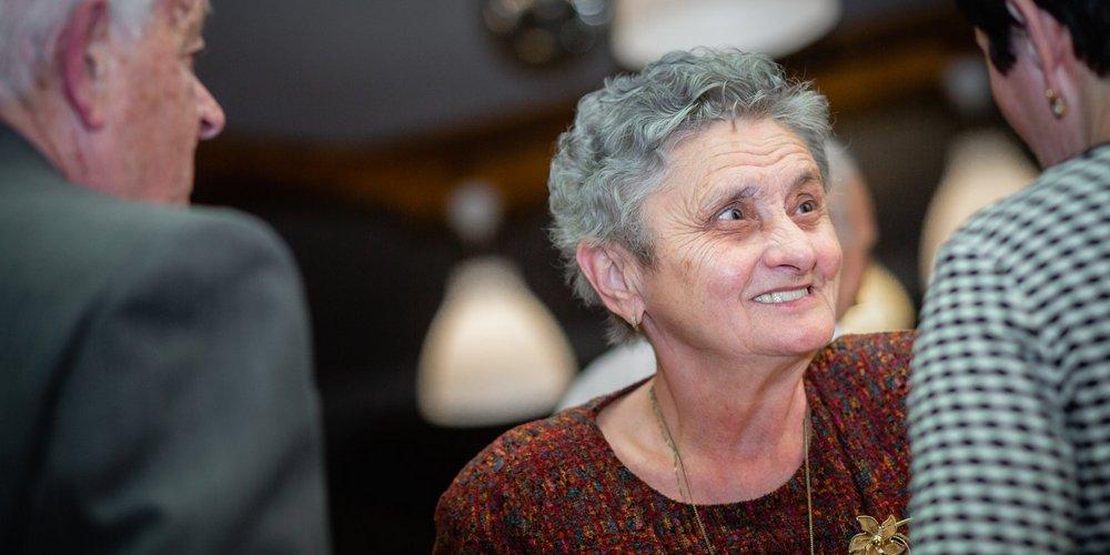 Manželka Miluška - portrét.