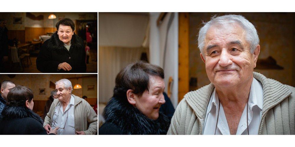Děda Matula s manželkou.