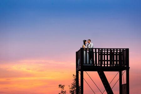 Svatba ženicha a nevěsty na ranči v Kostelanech