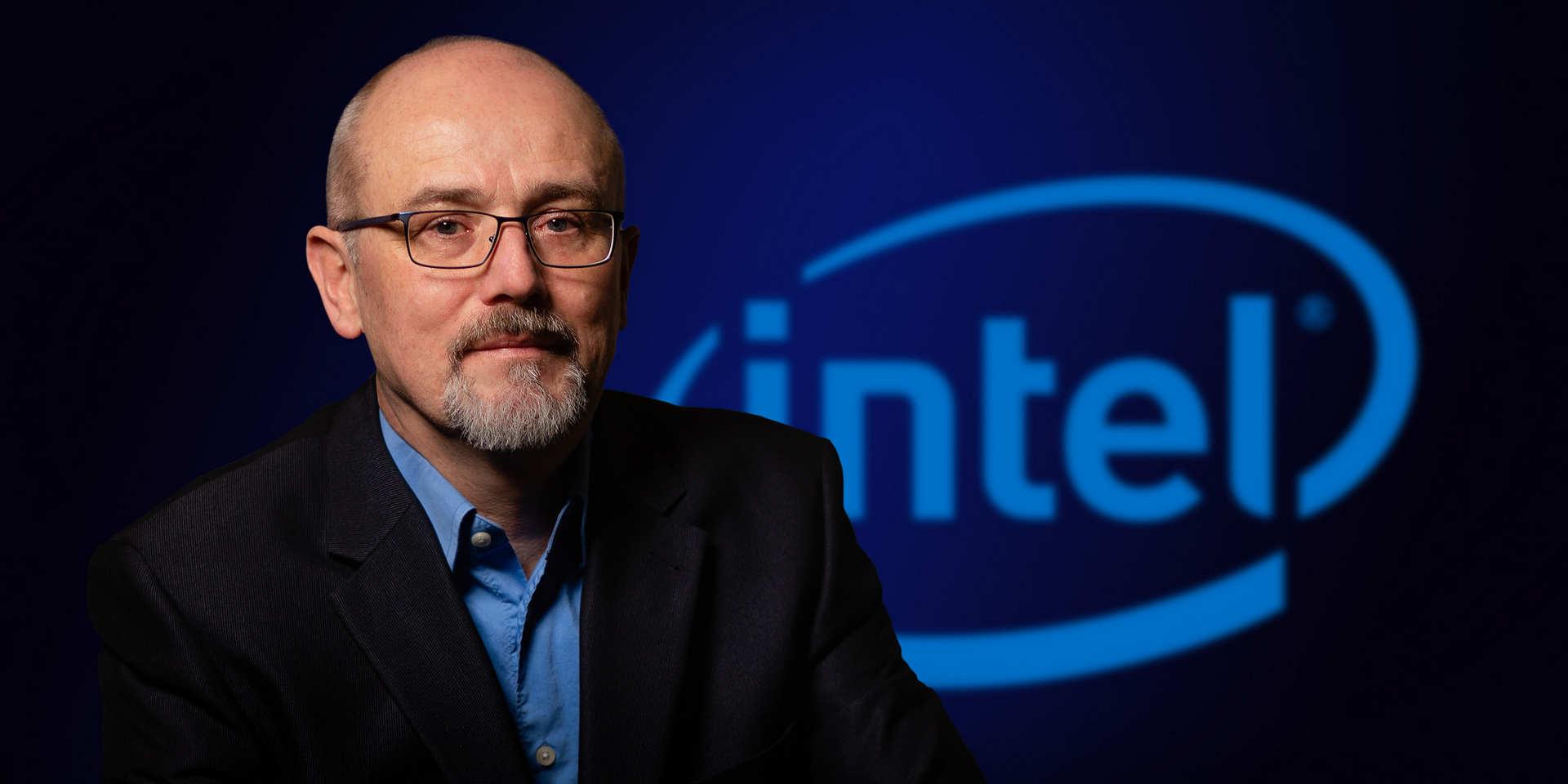 Potrét manažera firmy Intel.ů